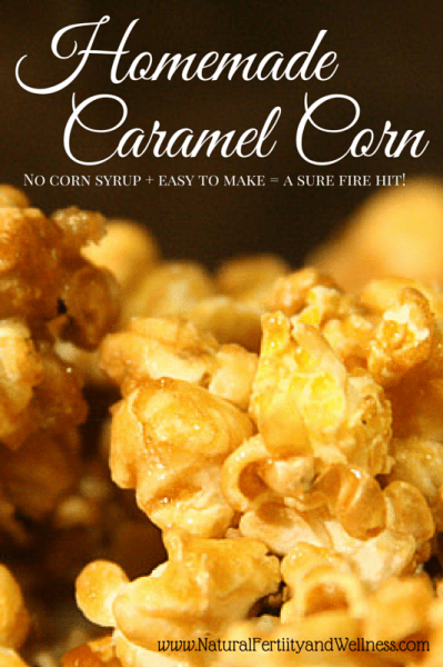 Homemade Caramel Corn without the corn syrup!