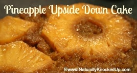 healthy pineapple upside down cake