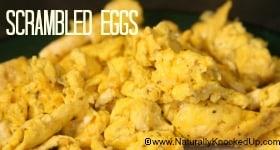 homemade scrambled eggs