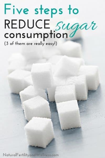 cutting back on sugar