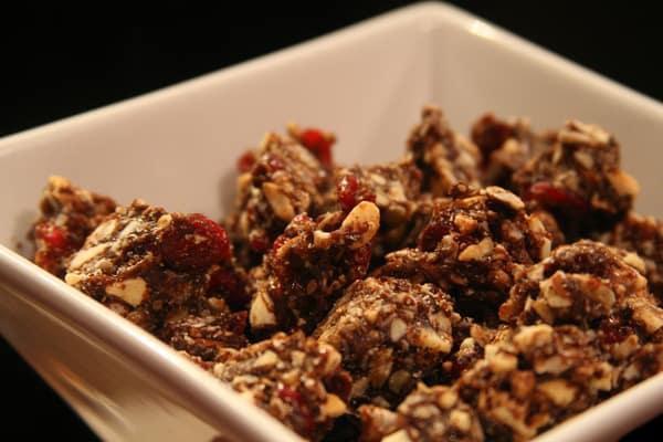 Chocolate Cranberry Nut Granola