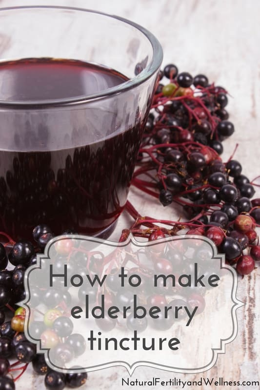 How to make elderry tincture
