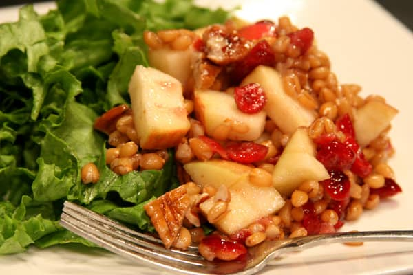 spelt cranberry salad