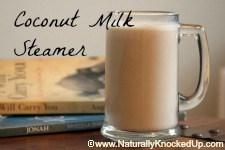 coconut milk steamer