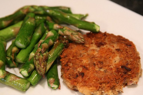 grain free salmon patties