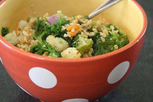 veggies and rice recipe