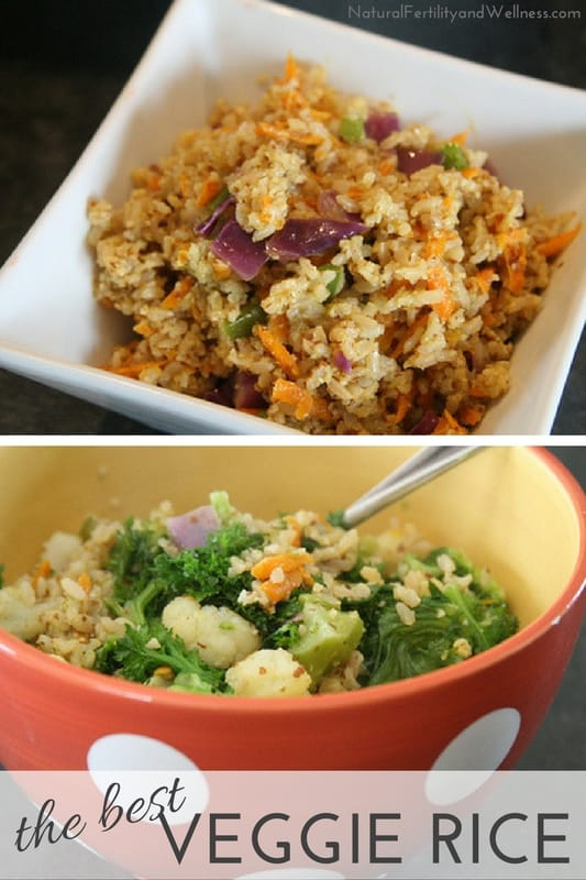 Veggie rice recipe