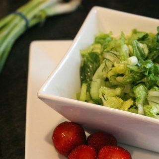 Simple Green Salad with Dill
