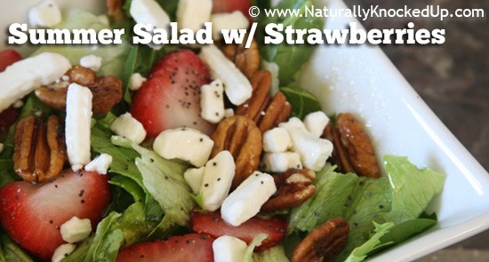 Summer Salad with Strawberries