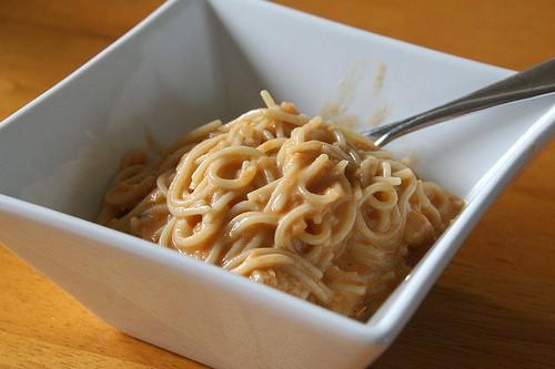healthy mushroom pasta