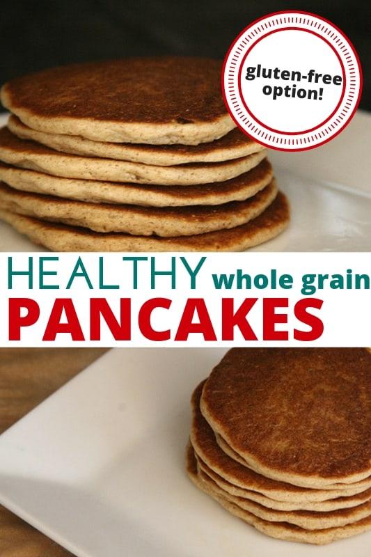 gluten-free pancakes closeup