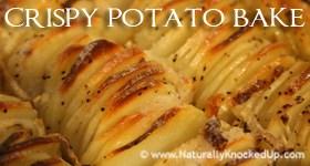 crispy potato bake