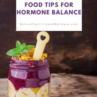 food tips for natural hormone balance