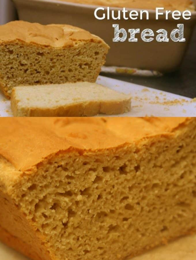 homemade gluten-free bread
