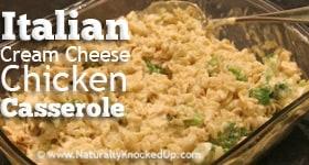 Cream Cheese Chicken Casserole