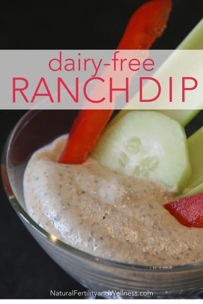 dairy-free ranch dip