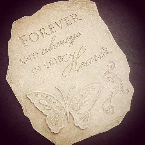 My garden stone. :-)