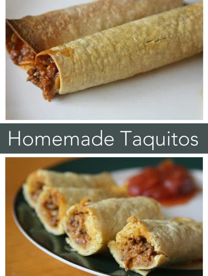 Homemade Taquitos