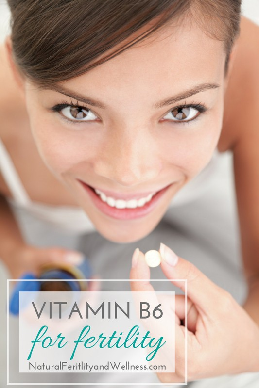 Vitamin B6 for fertility