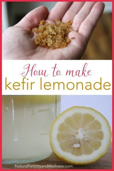 kefir lemonade