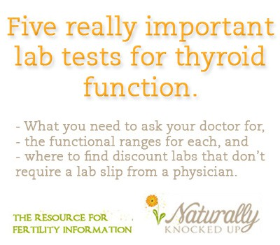 thyroid tests you need to get
