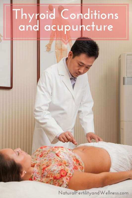 Thyroid and acupuncture
