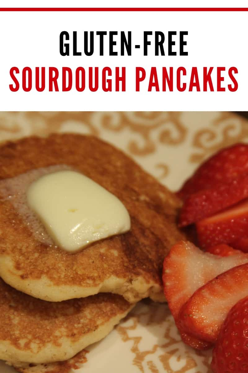 gluten-free sourdough pancakes