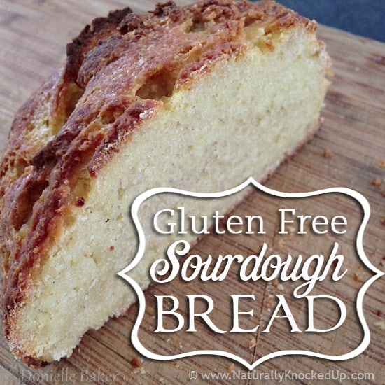 gluten free sourdough bread