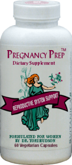 Herbal Pregnancy Prep supplement from Natural Fertility Shop