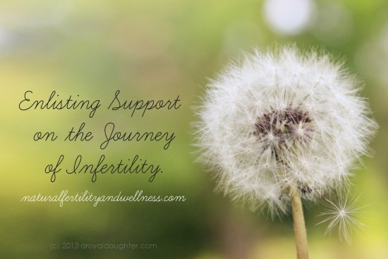Enlisting Support on the Journey of Infertility