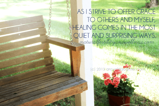 Nurturing a Spirit of Grace in the Midst of Infertility