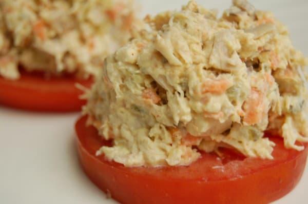 egg free chicken salad