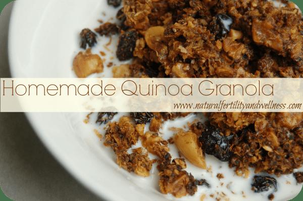 grain free Quinoa Granola