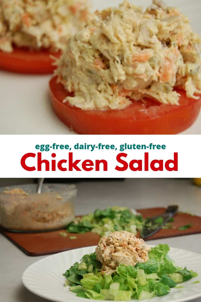 egg free Chicken Salad