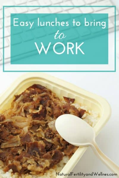 Easy lunches to bring to work