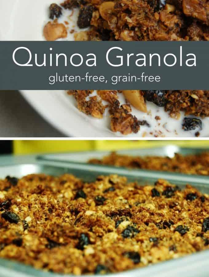 gluten free Quinoa Granola