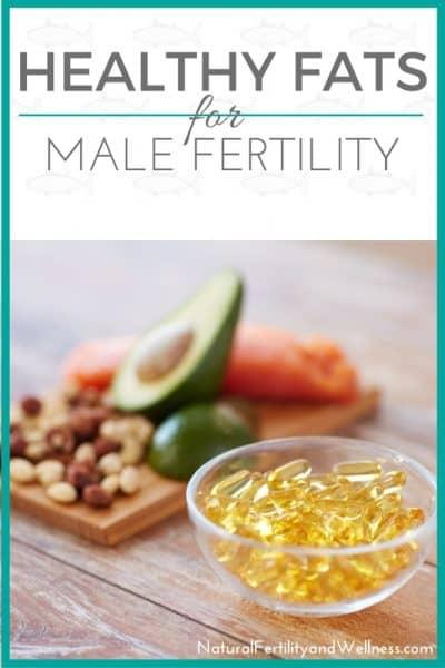 Healthy fats for male fertility