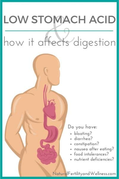 Low stomach acid and how it affects digestion