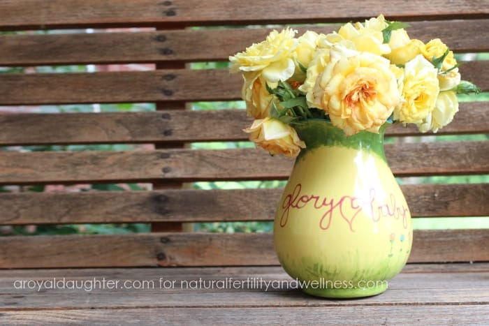 Honoring a baby lost to miscarriage