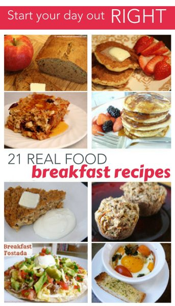 real food breakfast image