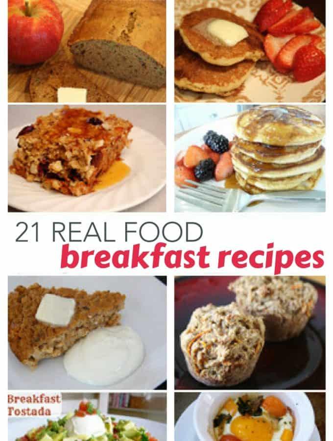 real food breakfast image