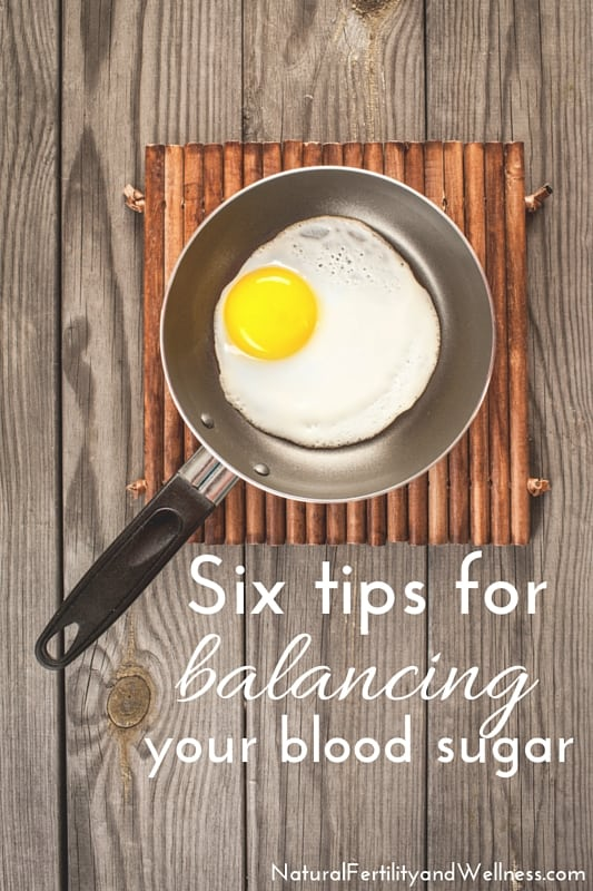 balancing your blood sugar