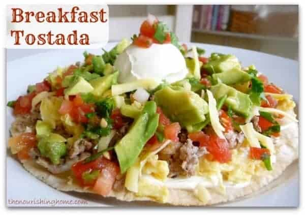 Breakfast-Tostada