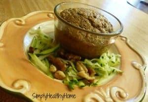 zucchini muffin in a mug