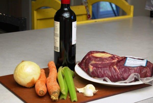 Garlic Roasted Beef Roast with Red Wine Sauce {Recipe} www.naturalfertilityandwellness.com