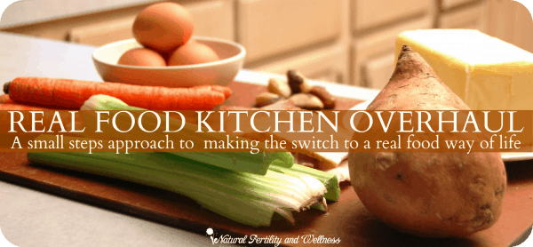 Real Food Kitchen Overhaul (www.naturalfertilityandwellness.com)