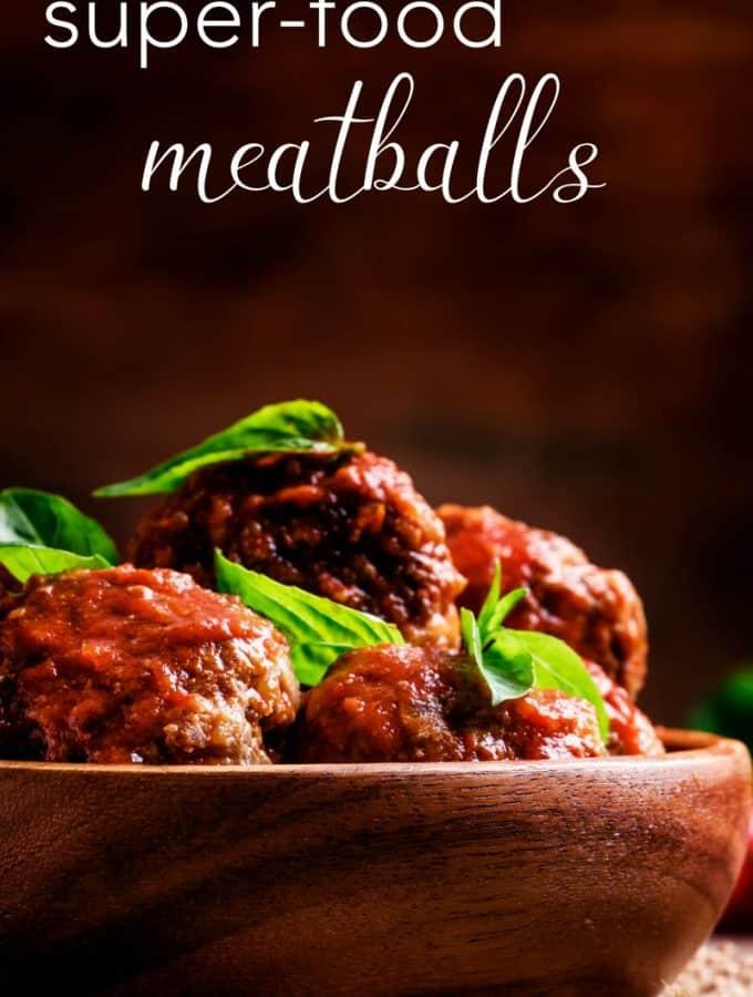 super-food meatballs