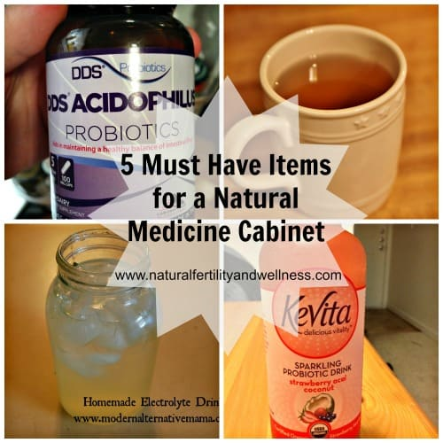 5 must have items for a natural medicine cabinet