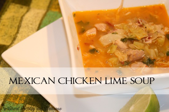 Mexican chicken lime soup (www.naturalfertilityadnwellness.com)