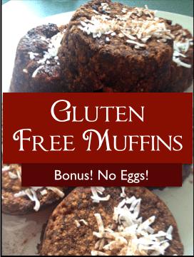 gluten free/egg free muffins
